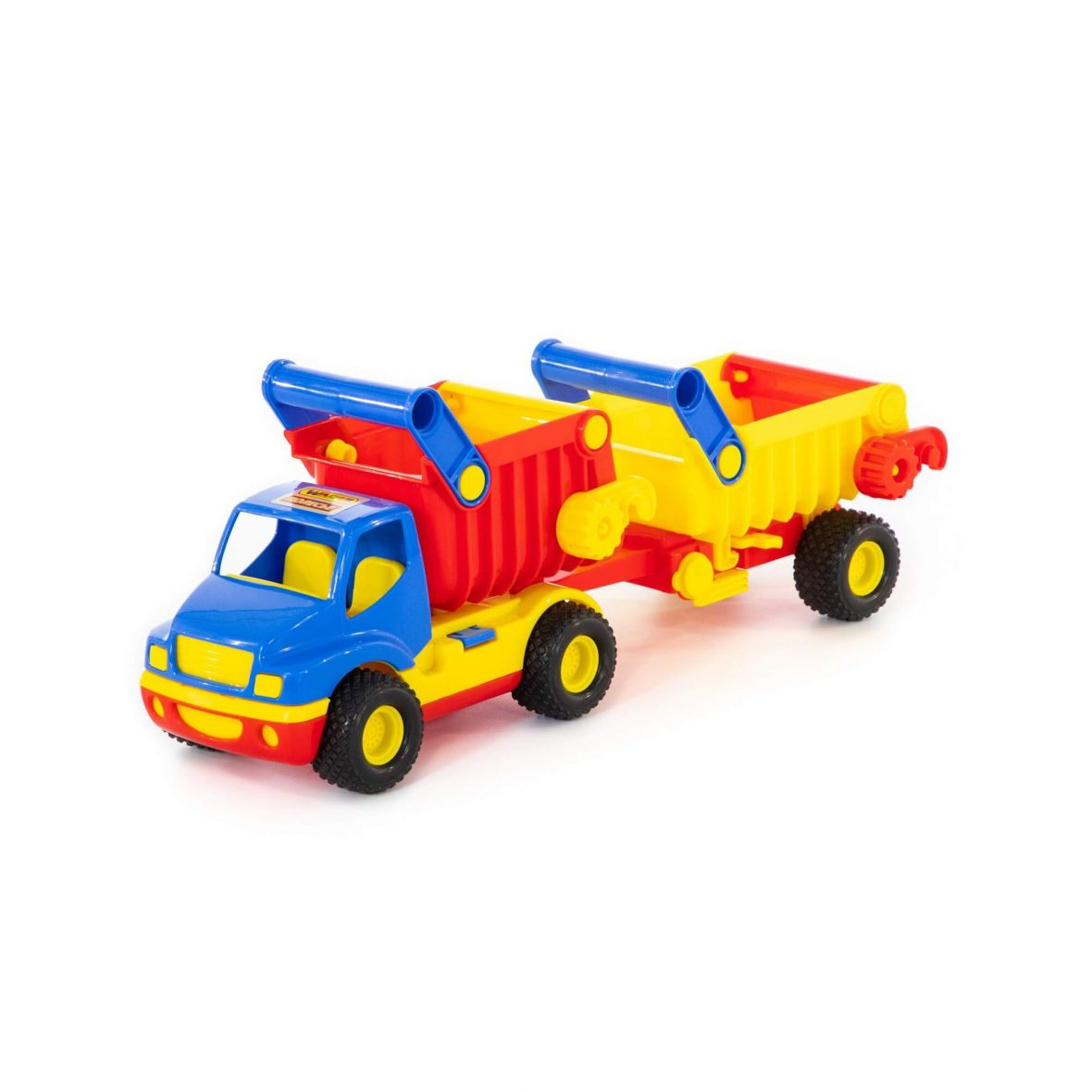 ConsTruck tipper with trailer